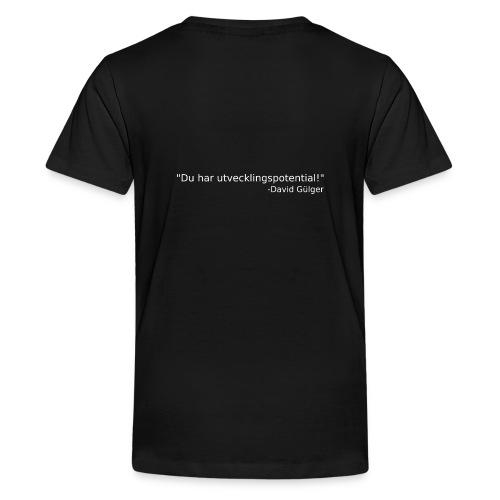Ju jutsu kai förslag 1 version 1 vit text - Premium-T-shirt tonåring