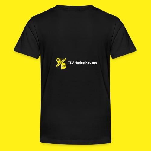 TSV Herberhausen - Schriftzug hinten - Teenager Premium T-Shirt