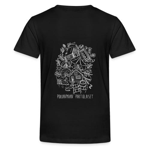 Aavoilta vaaroille - Teinien premium t-paita