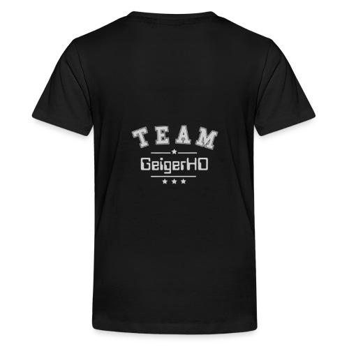 TEAM GeigerHD - Teenager Premium T-Shirt