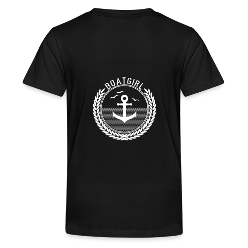 BoatGirl - Anchor - Teenager Premium T-Shirt