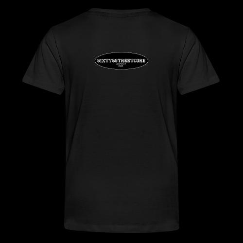 68FL:OZ - sixty8streetcore Rückseite - Teenager Premium T-Shirt