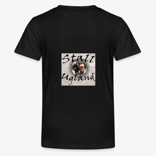 Stall Ugland - Premium T-skjorte for tenåringer