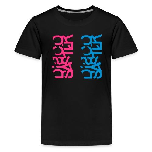 Discosaster Typo - Teenager Premium T-Shirt