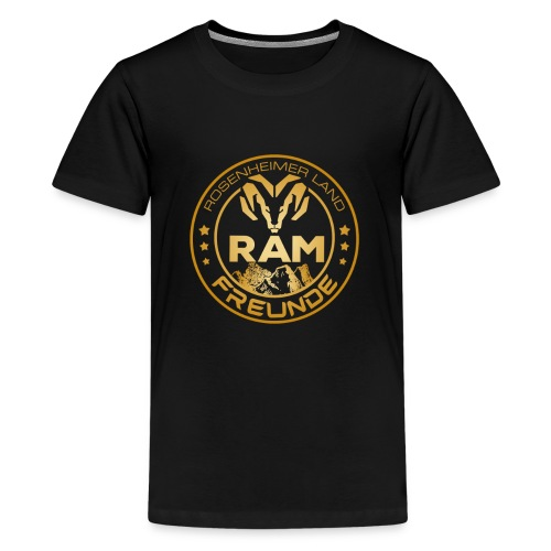 RAM FREUNDE-05 - Teenager Premium T-Shirt