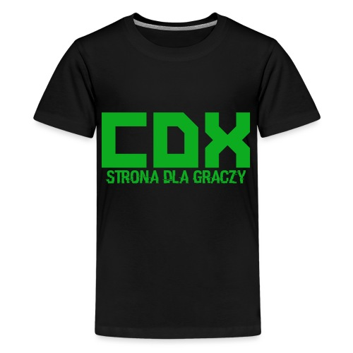 CDX-LOGO - Koszulka młodzieżowa Premium