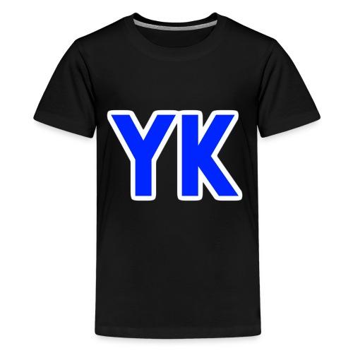 yk ontwerp png - Teenage Premium T-Shirt