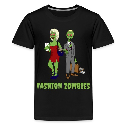 Fashion Zombie - Teenage Premium T-Shirt
