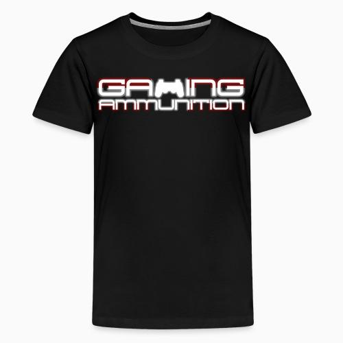 Bredt GADK-logo - Teenager premium T-shirt