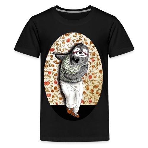 dancing sloth 40s - Maglietta Premium per ragazzi
