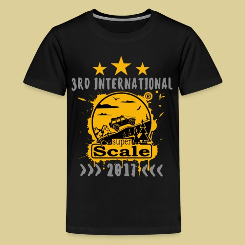 superScale® 2017 Yellow - Teenager Premium T-Shirt