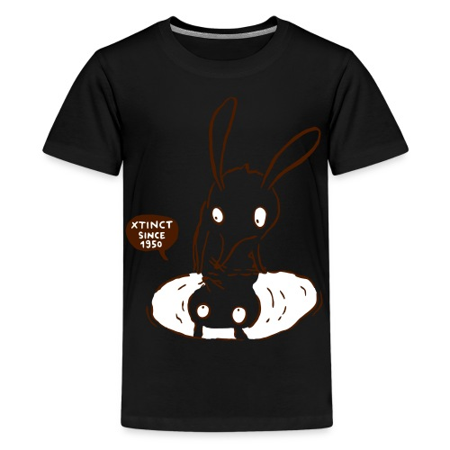 nasenbeutler andrea 2c - Teenager Premium T-Shirt