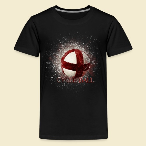 Radball | Cycle Ball - Teenager Premium T-Shirt