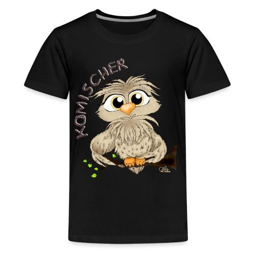 Komischer Kauz - Teenager Premium T-Shirt