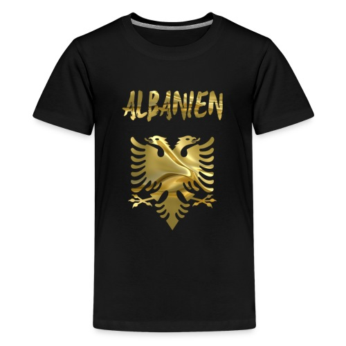 Albanien - Teenager Premium T-Shirt