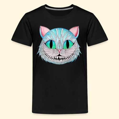 Le Chat de Cheshire - T-shirt Premium Ado