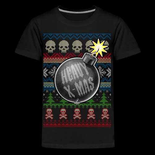 Heavy X-Mas Christbaumkugel-Bombe - Teenager Premium T-Shirt