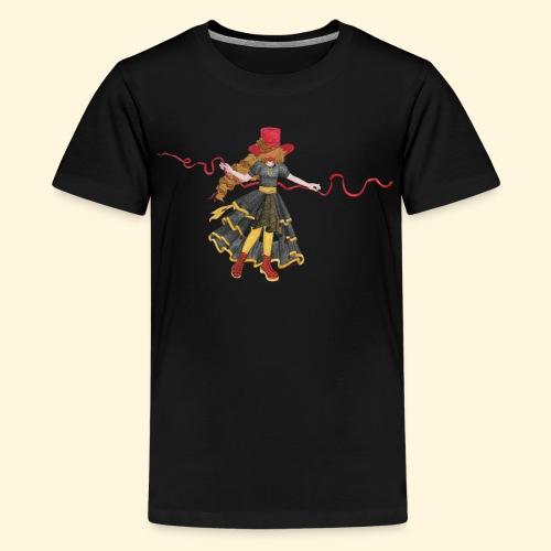 Ladybird - La célèbre uchronaute - T-shirt Premium Ado