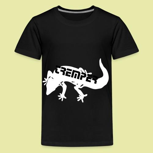 tremper_gecko_logo_einfach - Teenager Premium T-Shirt