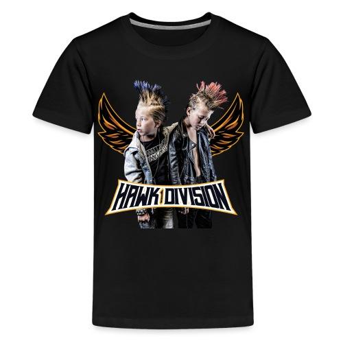 Hawk Division - Teenage Premium T-Shirt