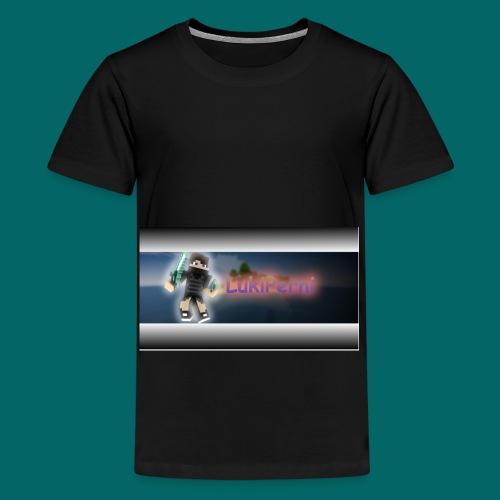 KanalBanner png - Teenager Premium T-Shirt