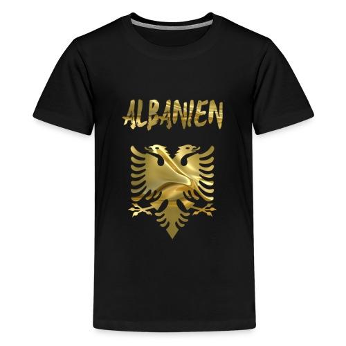 Albanien - Teenager Premium T-Shirt