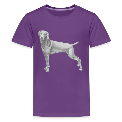 weimaraner - Teenager premium T-shirt