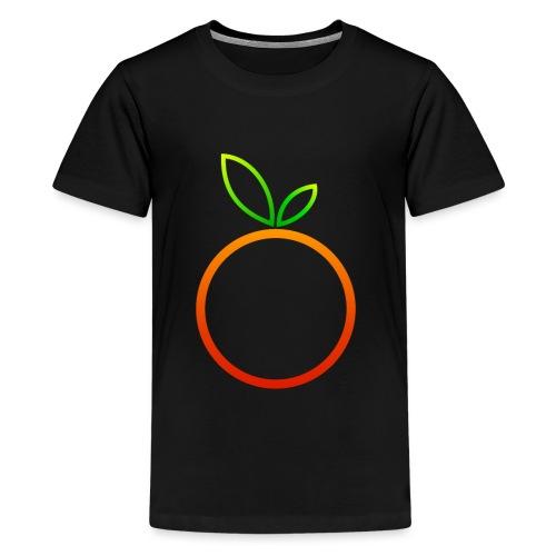 Apfel Apple Pomme Manzana Mela Äpple - Teenager Premium T-Shirt