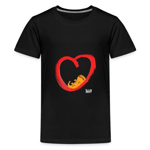 LYD 0003 04 KittyLove - Teenager Premium T-Shirt
