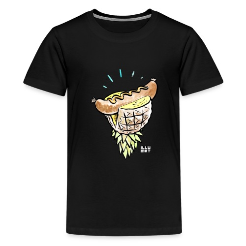 Stef 0005 00 tropical bratwurst - Teenager Premium T-Shirt