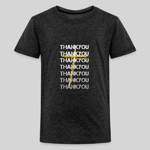 DANKE Jesus, das Geschenk für Christen THANKYOU - Teenager Premium T-Shirt