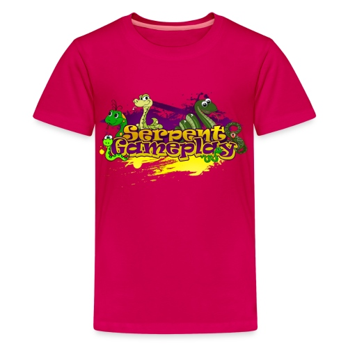 spdesign3 png - Teenager Premium T-shirt