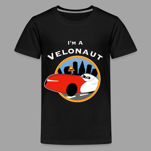 Im a velonaut - Teinien premium t-paita