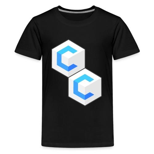 cclogo png - Teenage Premium T-Shirt