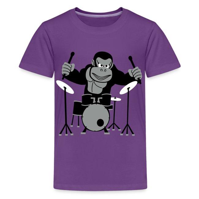Drumming Gorilla