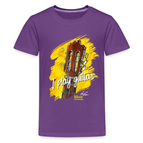 I play guitar - limited edition '19 - Teenager Premium T-Shirt