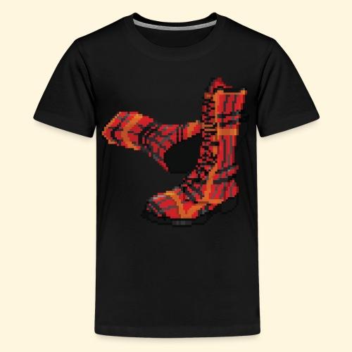 Rock and Shoes - Rock'n'll Shoes - T-shirt Premium Ado