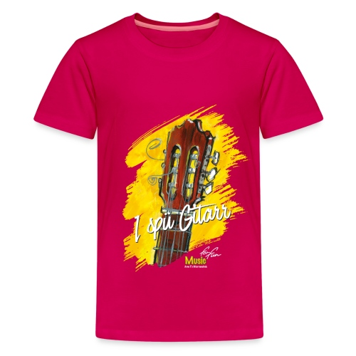 I spü Gitarr - limited edition '19 - Teenager Premium T-Shirt