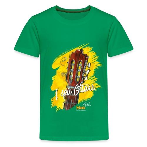 I spü Gitarr - limited edition '19 - Teenager Premium T-Shirt