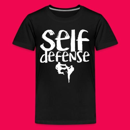 Self Defense 1.0 - Teenager Premium T-Shirt
