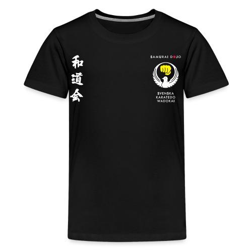 Samurai dojos Kodomokläder - Premium-T-shirt tonåring