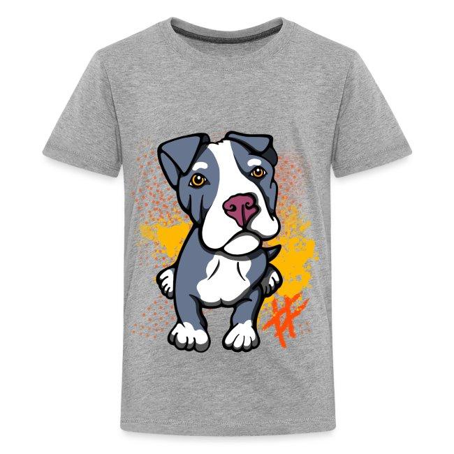 Blue Pitbull Puppy