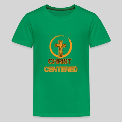Christ Centered Focus on Jesus - Teenager Premium T-Shirt
