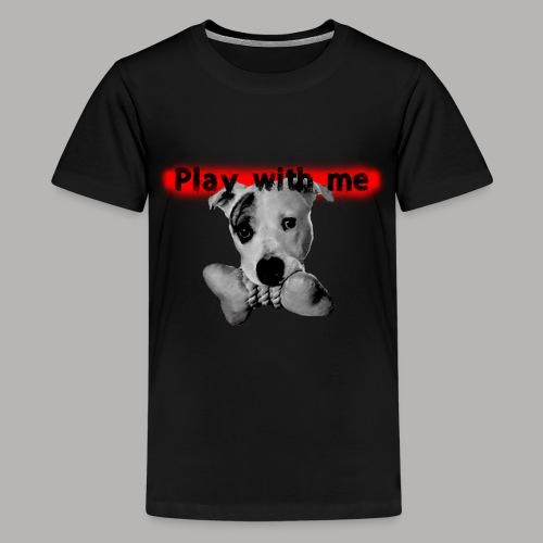 Nice Dog - T-shirt Premium Ado