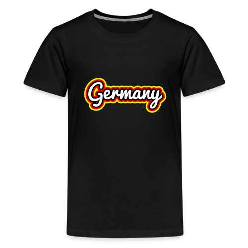 Germany Fußballfan - Teenager Premium T-Shirt