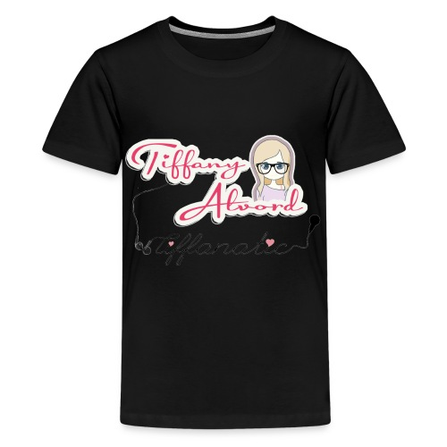 tiffanycartooncmyk2 - Teenage Premium T-Shirt