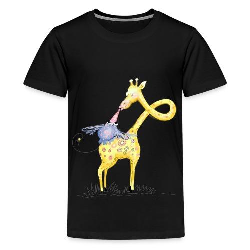 Hab dich lieb! - Teenager Premium T-Shirt