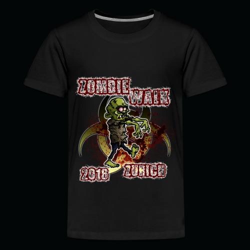 shirt zombie walk3 - Teenager Premium T-Shirt