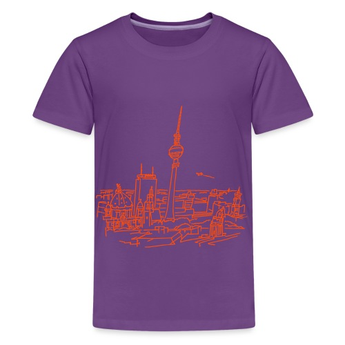 Berlin Panorama - Teenager Premium T-Shirt