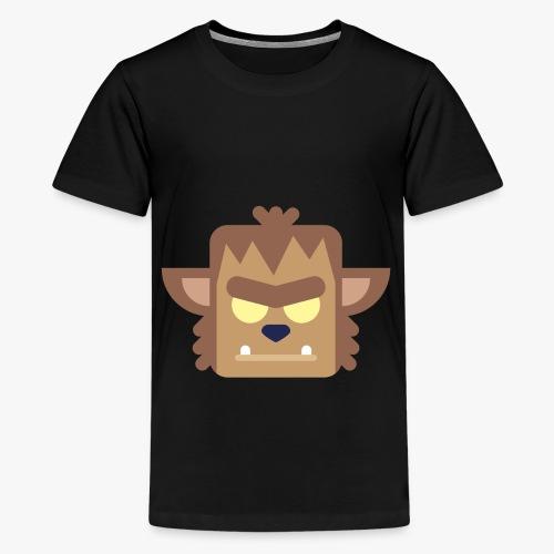 Mini Monsters - Werewolf - Teenager premium T-shirt